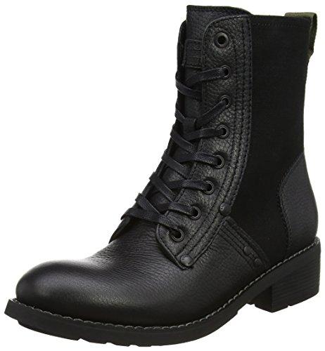 G-STAR RAW Labour Boot, Bottes Motardes Femme, Noir (Black), 41 EU