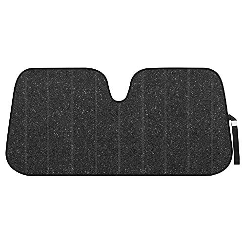BDK-AS-2511 Front Windshield Shade-Accordion Folding Auto Sunshade for Car Truck...
