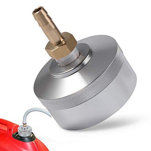 Camoo Generator Extended Run Fuel Cap Aluminum Silver for Yamaha EF2000is, EF1000is, Coleman pm2000i,Powerhorse 2000,Ai Power sua2300i
