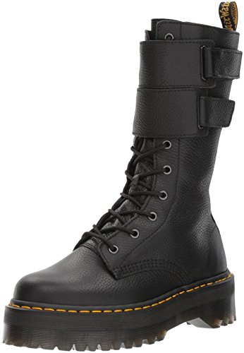 Dr. Martens Women's Jagger Fashion Boot, Black Aunt Sally, Womens 10/Mens 9