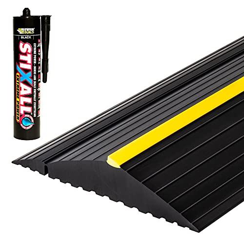Weather Defender XL Garage Door Threshold Floor Seal 10'6