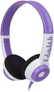 FSL Protec Kids Headphones with Adjustable Volume Limiting (Purple)
