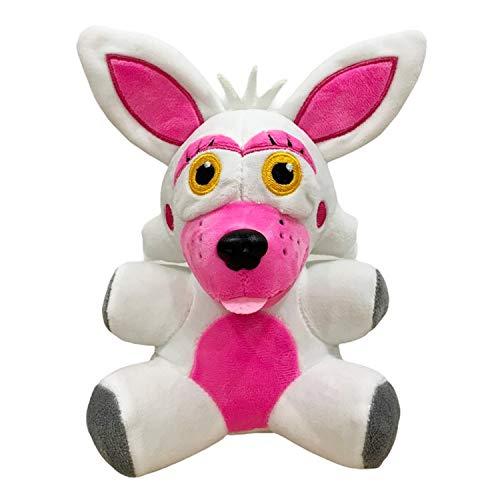 FNAF Plushies - Five Nights Freddy's Plush: Chica, Springtrap, Bonnie, Marionette, Foxy Plush - Freddy Plush-FNAF Plush-Kid's Toy-Stuffed Animal-FNAF Nightmare Plush (Mangle Funtime Foxy)