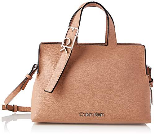Calvin Klein Tote, Bolso para Mujer, rosa polvo, One Size