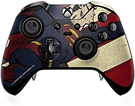 Skinit Decal Gaming Skin for Xbox One Elite Controller - Officially Licensed Warner Bros Superman American Flag Design