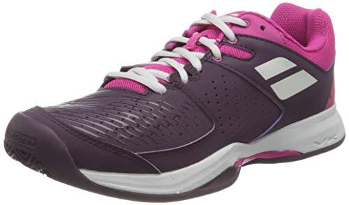 BABOLAT Pulsion Clay Women, Zapatillas de Tenis Mujer, Grape Royale, 40.5 EU