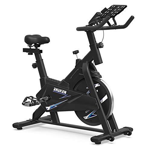 ZHUKEN Exercise Bike, Indoor Cycling Bike Stationary bikes, Spin Bike for home cardio bike, Workout Bike with 35 LBS Flywheel(ZHUKEN-703)