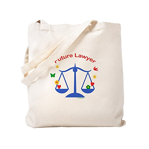 CafePress Future Lawyer Tragetasche, canvas, khaki, S