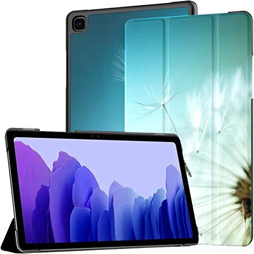 Funda para Tableta Samsung A7 Primer Diente de león sobre Fondo Natural Funda para Samsung Galaxy Tab A7 10,4 Pulgadas Funda Protectora de liberación 2020 Funda Samsung Galaxy A7 Funda para Tableta F