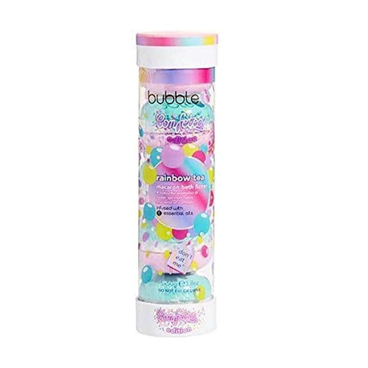 補充平行抑制[Bubble T ] バブルトン化粧品のマカロンバスFizzer虹茶5×50グラム - Bubble T Cosmetics Macaron Bath Fizzer Rainbow Tea 5 x 50g [並行輸入品]