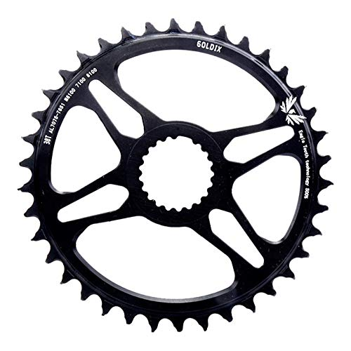 DIYARTS Disco de Dientes de Bicicleta de montaña de 12 velocidades Dientes Especiales positivos y Negativos Disco de reparación M7100 / 8100/9100