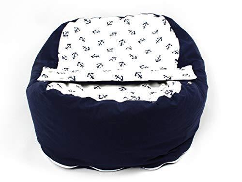 Opadi 10031 Babyliegekissen/Kindersitzsack, mehrfarbig