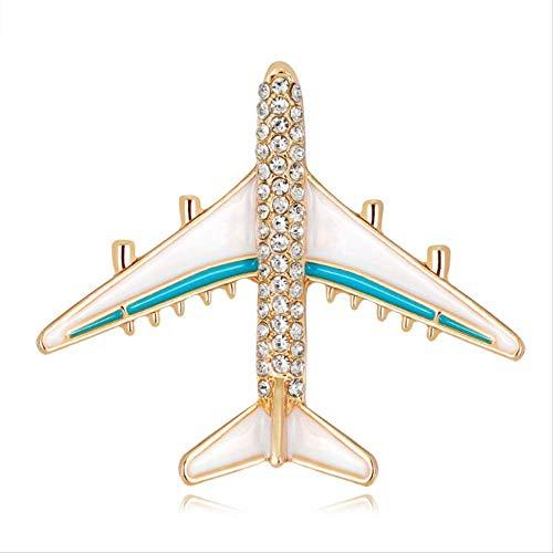 Geen brand vliegtuig broche vliegtuig emaille charms sieraden party badge banket sjaal pinnen geschenken