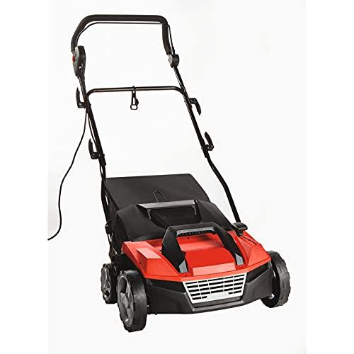 Bergman Pro 3 in 1 Lawn Scarifier - 1600w Electric Garden Lawn Rake,...