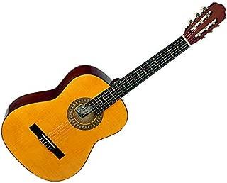 Santa Rosa Full Size Concert Classical Guitar, Nylon Strings, Pumpkin Amber Top (KCL330)