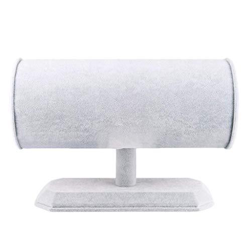 Tubayia Stirnband Schmuckständer Schmuckhalter Haarreif Display Halter Ausstellungsstand (Grau)