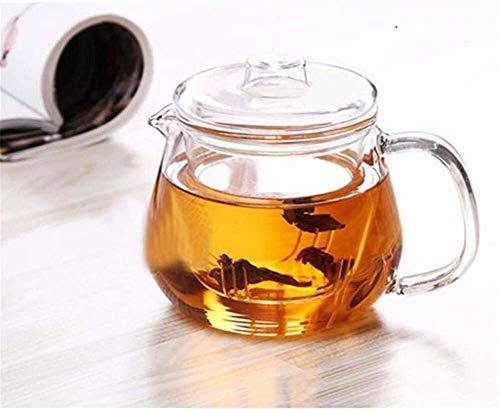 Bouilloire induction Mini Théière Clear Creative Creative Eau épaissie Eau bouillie Borosilicate Verre Tea Pots Verre Infuser 500ml pour Home Office Outdoor WHLONG (Color : 500ml)