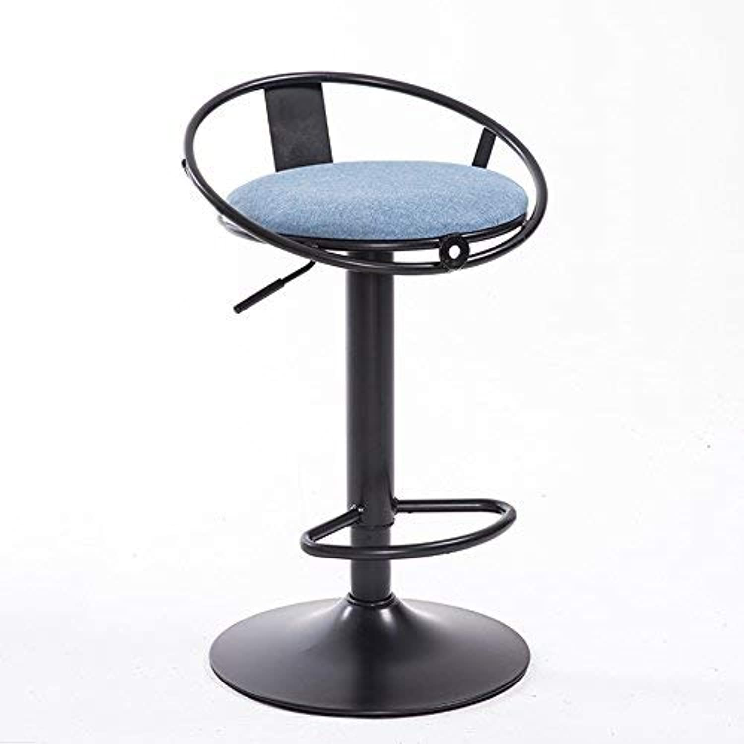 SED Chair - Bar Chairs Round Stool High Stool Dining Chair Iron Chair Height Adjustable Modern Style Adult Home Stool