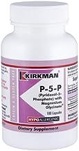 Kirkman P-5-P (Pyridoxal 5-Phosphate, Vitamin B-6 Metabolite) with Magnesium Bisglycinate - Hypoallergenic | 100 Vegetaria...
