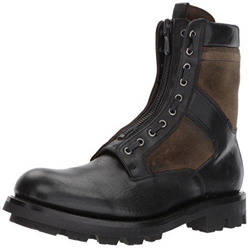 Frye Men's Jump Combat Boot, Black/Multi, 9 D US