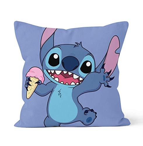 Tainsi Hidden zipper closure Double Sided Decorative Pillowcases Disney...