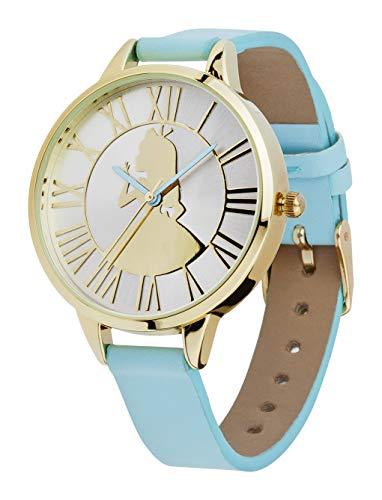 Joy Toy Alice im Wunderland Disney Armband Uhr, Blau