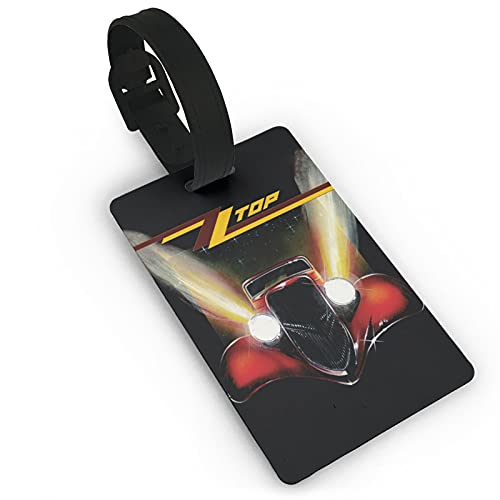 Zz - Etiquetas para equipaje (PVC, 5,6 x 9,4 cm)