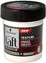 Schwarzkopf Taft Looks Carbon Force Texturizing Fiber Paste 130 ml / 4.3 oz by Schwarzkopf