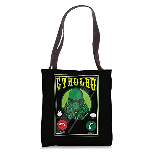 The Call Of Cthulhu Fictional Dark Occult Monster Tote Bag