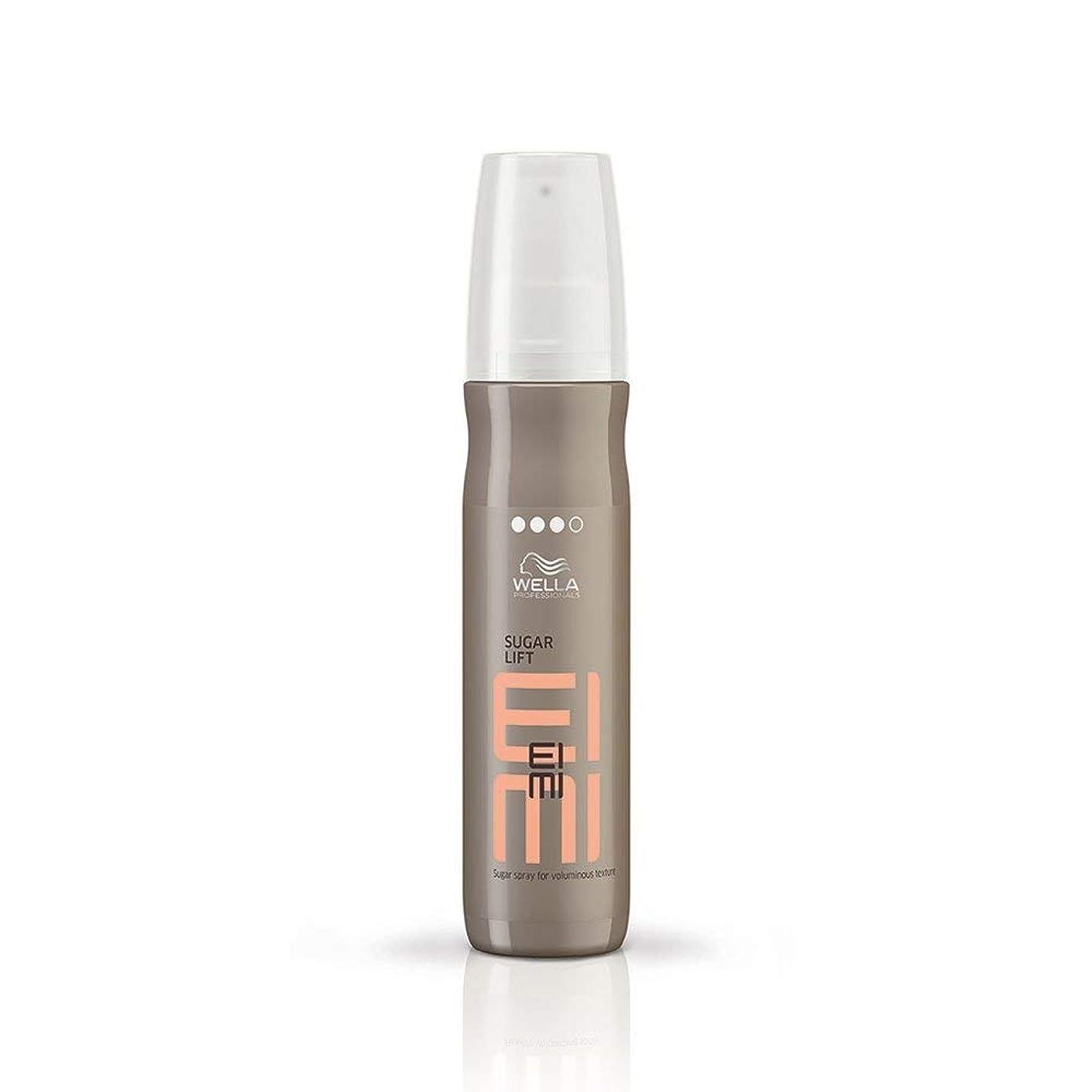消化姓湿原ウエラ シュガー リフト スプレー Wella EIMI Sugar Lift Sugar Spray for Voluminous Texture 150 ml [並行輸入品]