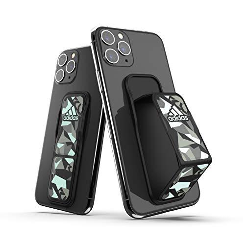 adidas - Soporte Universal para teléfono y Tableta, Compatible con iPhone, iPad, Samsung, Huawei y más, tamaño pequeño en Negro/Verde