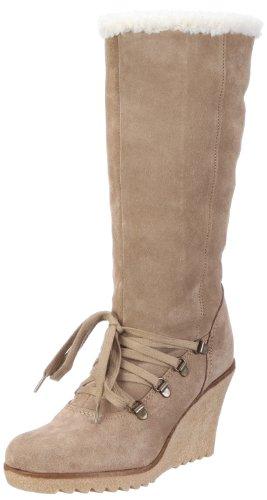 ESPRIT Kiwi Lu Boot X10430, Damen Stiefel, Beige (fossil beige 281), EU 39