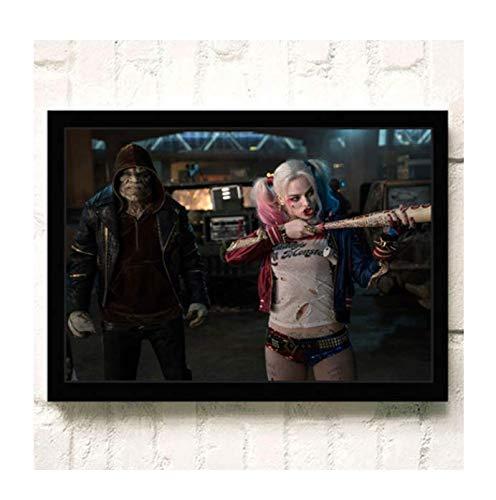 H/E Suicide Squad Poster Canvas Painting Home Decoration Rahmenlos 40X60Cmy2361