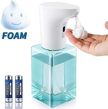 Forty4 Touchless Infrared Motion Sensor Foaming Soap Dispenser 450ml