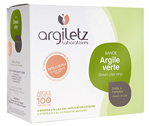 Argiletz Pack de 2 Bande Argile Vert