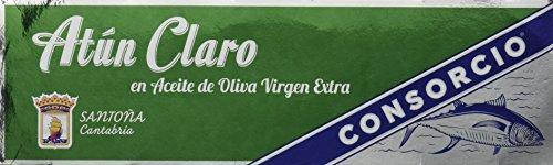 Consorcio Atún Claro en Aceite de Oliva Virgen Extra - 8 Paquetes de 3 x 85 gr - Total: 2040 gr