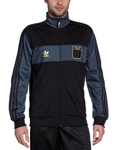 Adidas Veste de survêtement E12 Collegiate Track Top Italy FR:42 Noir
