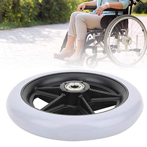 Ruedas para sillas de ruedas, carga 120 (kg) Antideslizante de 6 pulgadas Ruedas para sillas de ruedas para discapacitados Antideslizantes para personas mayores discapacitadas