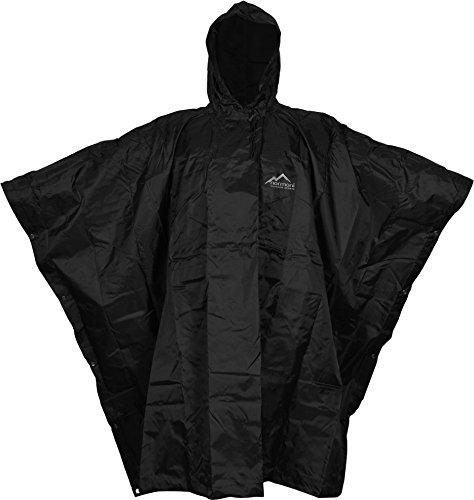 normani US Poncho Rip Stop Regenponcho Farbe Black