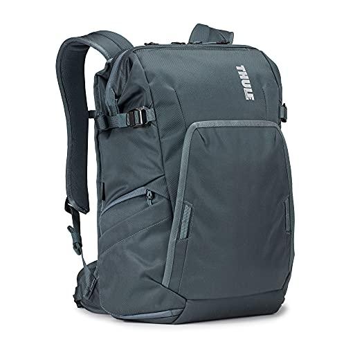 THULE Covert DSLR Backpack Mochila, Adultos Unisex, Dark Slate (Multicolor), 24l