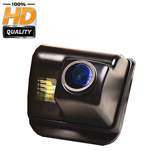 Farbkamera Wasserdicht Rückfahrkamera kennzeichenbeleuchtung Kamera KFZ Rückfahrsystem mit Einparkhilfe Nachtsicht für Mazda CX-5 CX-7 CX-9 Mazda 3 Mazda 6