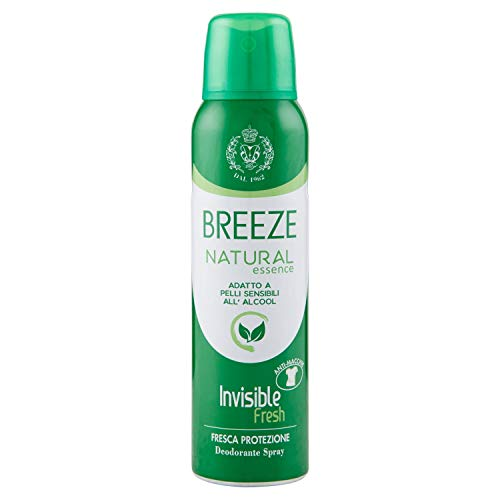 Natural Invisible Green Spray Deodorant 150 ml