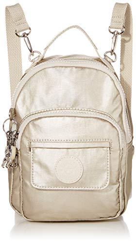 Kipling womens Alber 3-In-1 Convertible Mini Backpack, cloud Metal, One Size
