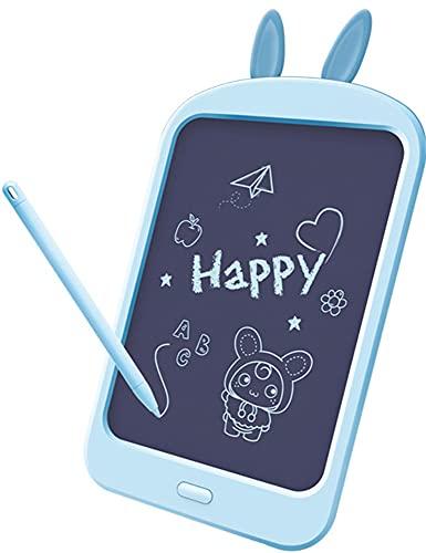 Xyfw Tableta De Escritura LCD Digital De 8.8 Pulgadas para Niños, Tableta De Dibujo, Almohadillas De Escritura A Mano, Tableta Gráfica Electrónica Portátil Ultrafina,Azul
