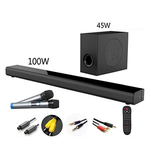 Buy Discount LXLTL Soundbar TV Stereo Speaker 5.1, Bluetooth 4.0, Wall Mountable Soundbar100w, 3D Su...