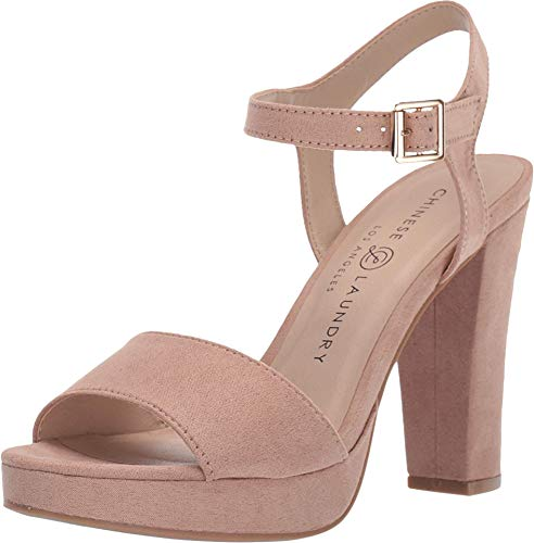 Chinese Laundry Women's Aced Sandal, Dark Nude, 9.5 M US