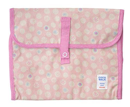 シャボンフラワー コーティング 携帯オムツポーチ ピンク