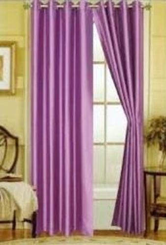"Gorgeous Home *DIFFERENT SOLID COLORS & SIZES* (#72) 1 PANEL SOLID THERMAL FOAM LINED BLACKOUT HEAVY THICK WINDOW CURTAIN DRAPES BRONZE GROMMETS (LAVENDER PURPLE, 63"" LENGTH)"