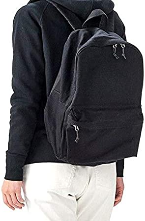 Blue Moon Beer Logo Casual Style Lightweight Canvas Backpack School Bag Travel Daypack