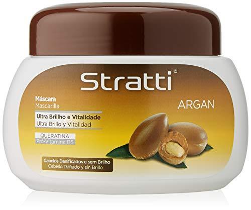 Stratti Argán - Mascarilla Ultra Brillo con Keratina - 550 gr